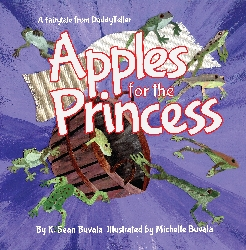 cover for the apples for the princess book used in our parent involvement programming in schools